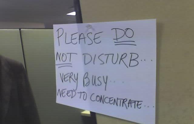 Do Not Disturb photo (C) 2006 by Jon Bell