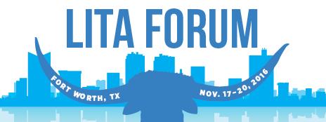 2016 LITA Forum logo