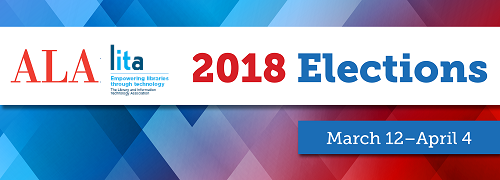 Vote in the 2018 ALA/LITA elections