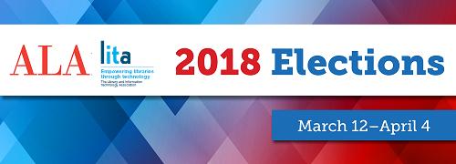 Vote in the 2018 ALA/LITA elections