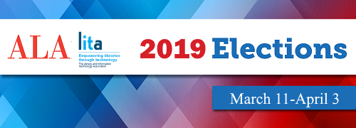 2019 ALA/LITA Election Runs March 10 through April 3