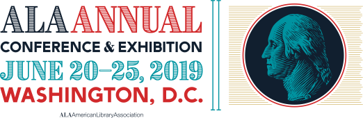 2019 ALA Annual Conference, Washington DC, logo