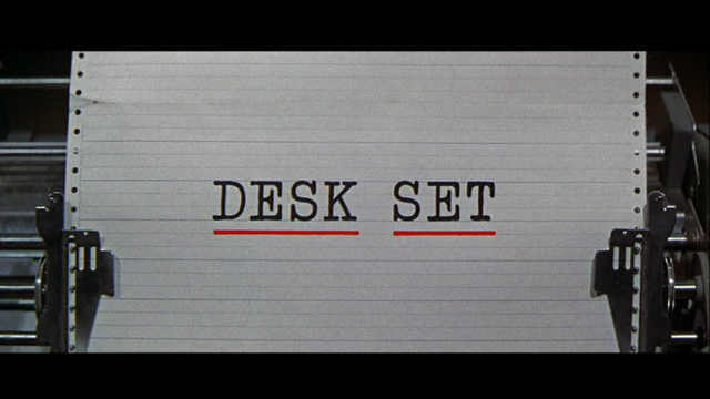 Desk Set Title