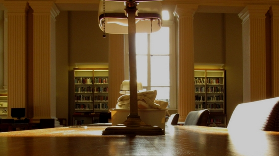 othmer library reading room