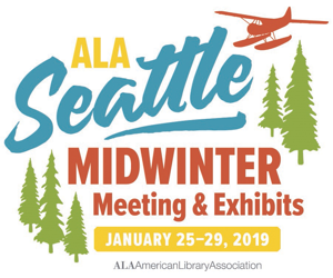 ALA Midwinter 2019 Seattle logo