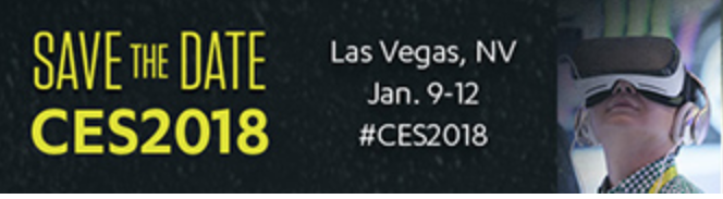 CES 2018 Save the Date Banner