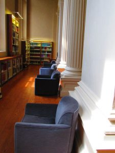 chairs furniture reading room othmer library philadelphia