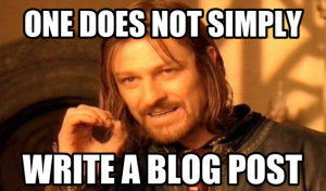 One does not simply (Boromir meme)