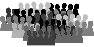 groups of people graphic