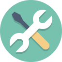 Tools logo graphic